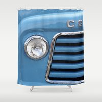 vans Shower Curtains featuring A Taste of Summer  by Caroline Benzies Photography
