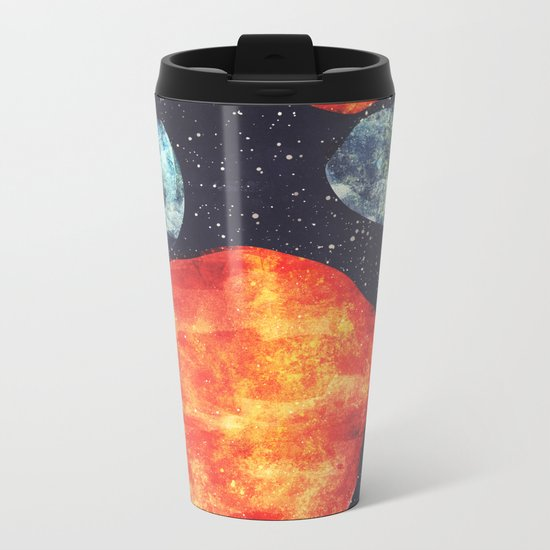 Collision Metal Travel Mug