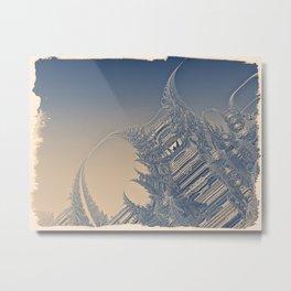 Goldraki Metal Print