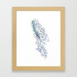 Owasco Lake Framed Art Print