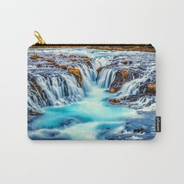 Million Waterfalls Carry-All Pouch