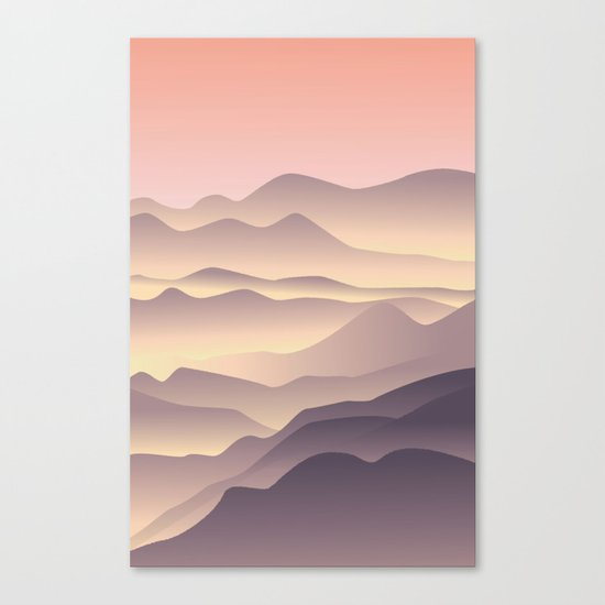 5 am on the top Canvas Print