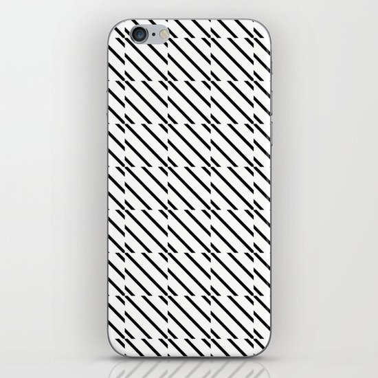 IJzerman Black & White Pattern iPhone & iPod Skin