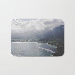Hanalei Bay - Kauai, Hawaii Bath Mat