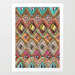 Tribal Stripe Art Print