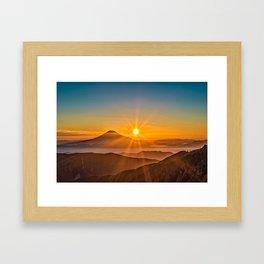 Mt Fuji II Framed Art Print