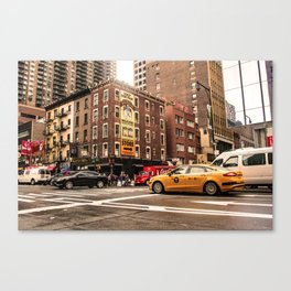 ArtWork New York City USA Art work photo Canvas Print