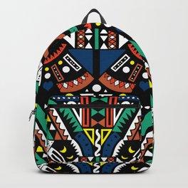 Geometric Power Backpack