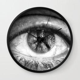 Eye of the Photographer Wall Clock