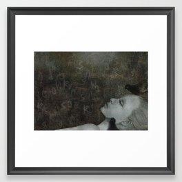 Say Anything Framed Art Print