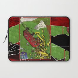 Super Lego Monorails in the Alps of My Mind Laptop Sleeve