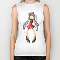 popsicle Biker Tanks featuring Popsicle by Freeminds