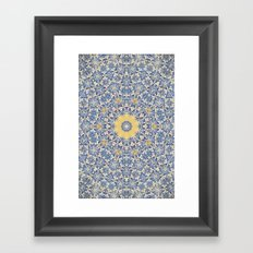 Deep States (Mandala) Framed Art Print