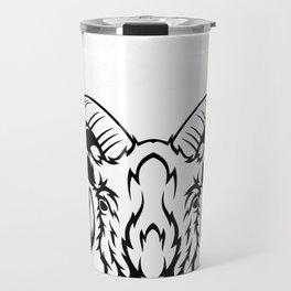 Baphomet Goat Occult Satanic My Demons Get Bored Easily Gift Pullover Hoodie Travel Mug