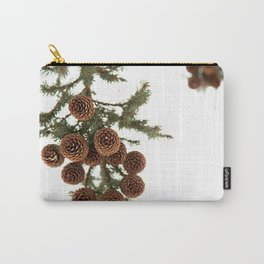(Spruce or Fir) Cones Carry-All Pouch