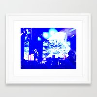 panic at the disco Framed Art Prints featuring Charlotte Panic! At The Disco by Melissa Mabe