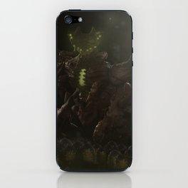 Alien hunter iPhone Skin