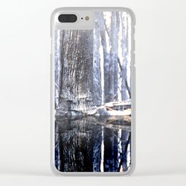 Humans and Wolves Clear iPhone Case