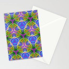 490.5 trippy tile Stationery Cards