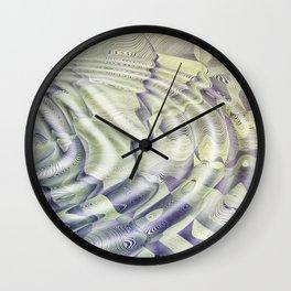 Abstract Water Ripples Wall Clock