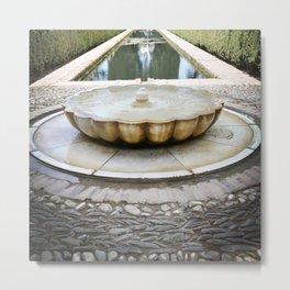 Moorish Fountain Metal Print