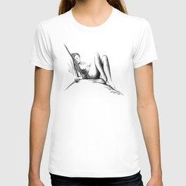 Nude female figure 2 T-shirt