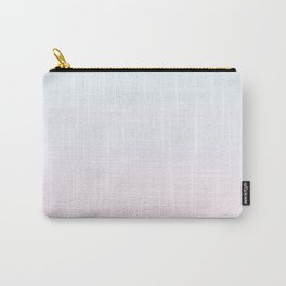 Color gradient 6. Pink and blue.abstraction,abstract,minimalism,plain,ombré Carry-All Pouch
