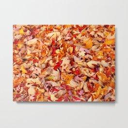 Wall to wall fall Metal Print