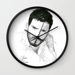 Jamie Dornan Wall Clock