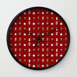 Hooray for Horror Wall Clock