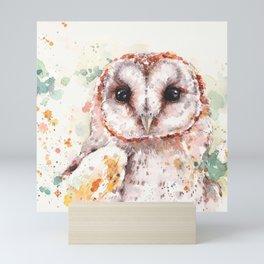 Australian Barn Owl Mini Art Print