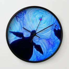 Garbage Wall Clock
