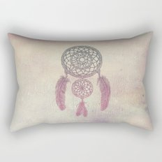 Double Dream Catcher (Rose) Rectangular Pillow