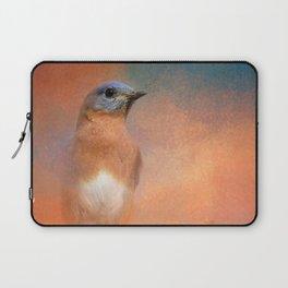 Summer Day Bluebird - Wildlife Laptop Sleeve