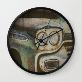 Chevy Apache Wall Clock