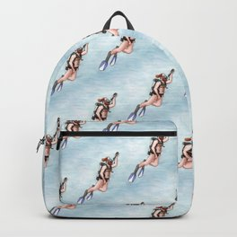 Dillon Surfacing (pattern) Backpack