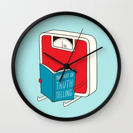 The art of Truth Telling Wall Clock