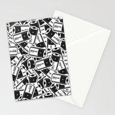 Bipolar Bitch Pattern Stationery Cards