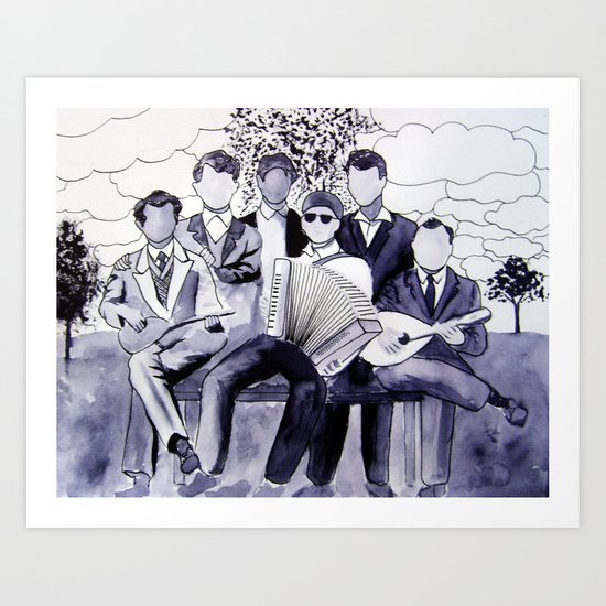 The Orchestra Art Print