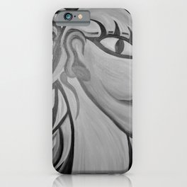 One Eyed King by Terry Horton iPhone Case