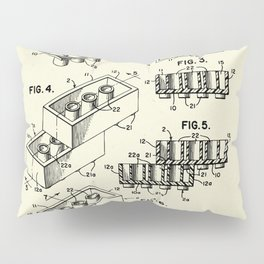 Lego Toy Building Brick-1961 Pillow Sham