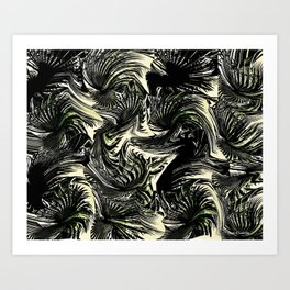 LET'S BE FRONDS Art Print