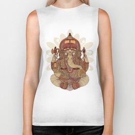 Ganesha: Lord of Success Biker Tank
