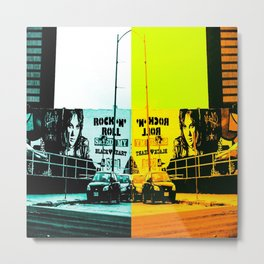 RockNRoll Metal Print