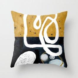 Keep 'Em Separated Throw Pillow