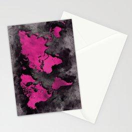 world map 139 #worldmap #map Stationery Cards