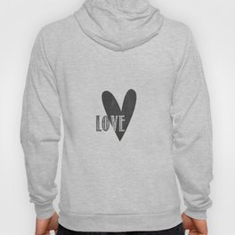 Home, Love, Illustration, Heart,  Hoody
