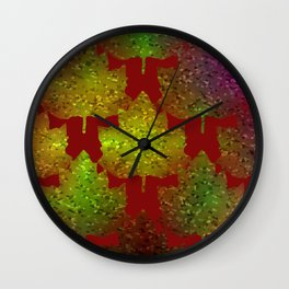 Nature's Complexion Wall Clock