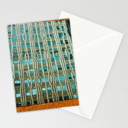 Building on [in] the reflections Stationery Cards