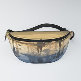Salt Harvest in Abstract Art Fanny Pack